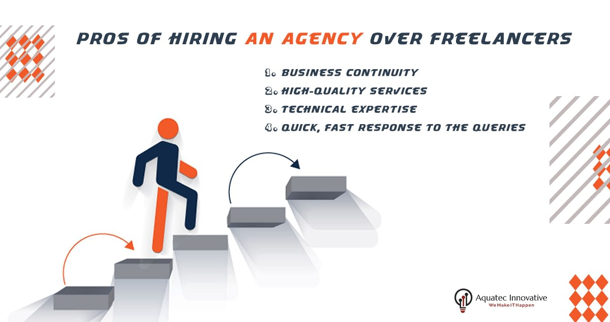 Pros of hiring an agency over freelancers