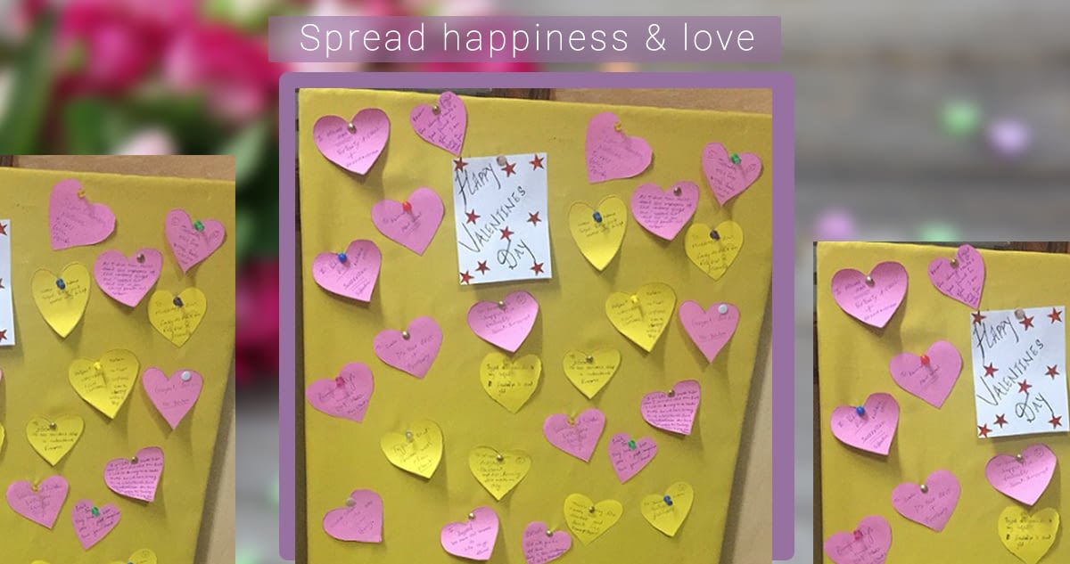 Spread happiness & love